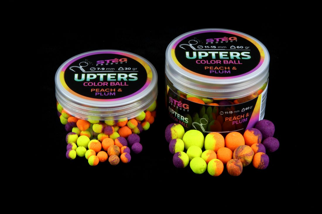 STÉG PRODUCT UPTERS COLOR BALL 7-9MM PEACH& PLUM 30G