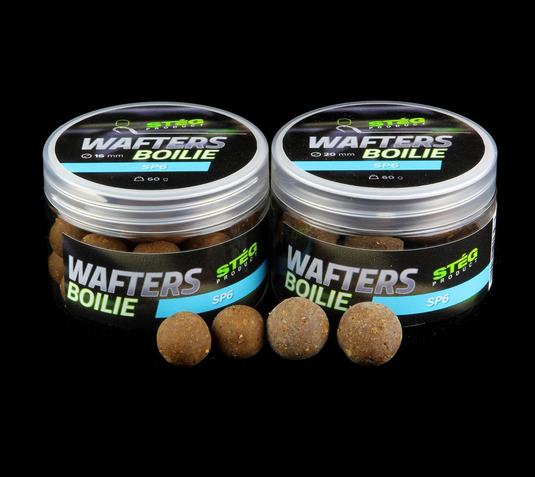 STÉG WAFTERS BOILIE 16MM SP6 60G