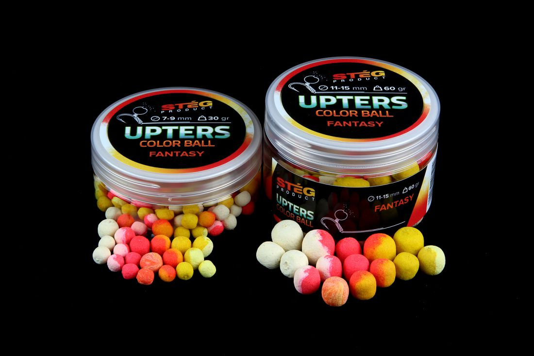 STÉG PRODUCT UPTERS COLOR BALL 11-15MM FANTASY 60G