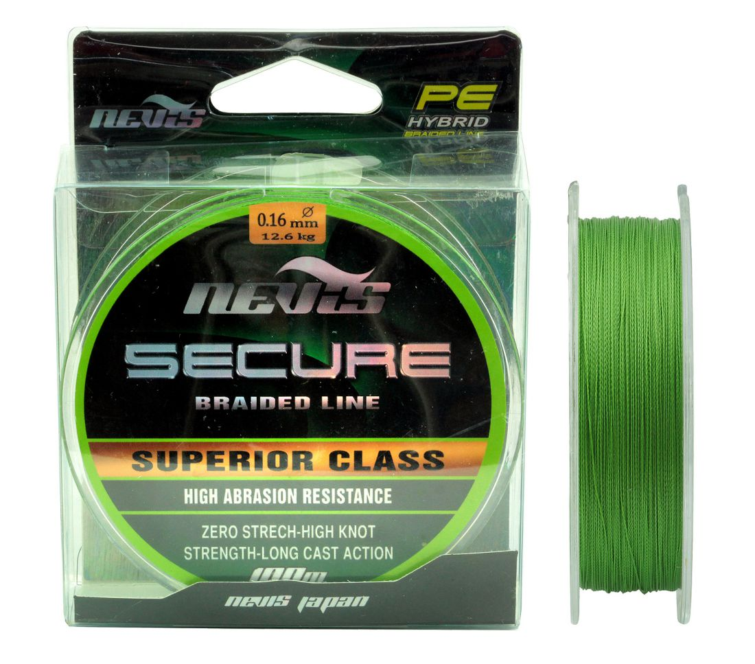 SECURE BRAIDED 100M 0,45MM